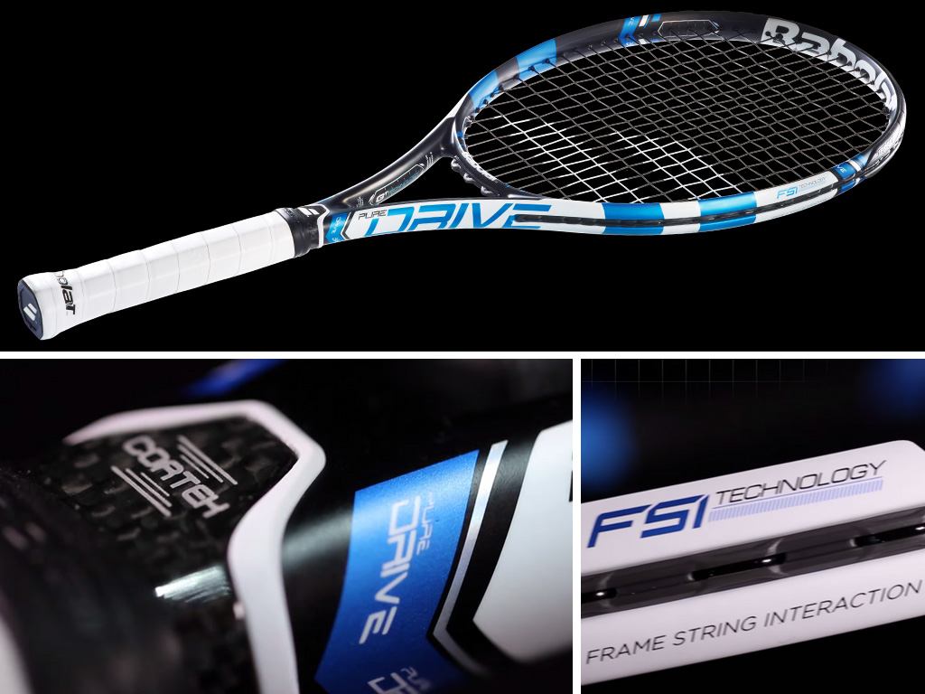 The new Babolat Pure Drive series – combines high power with good handling