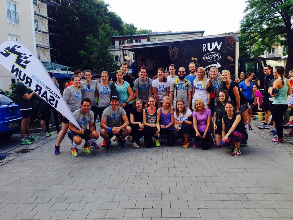 The Isar Run Running Club from Keller Sports on Tour