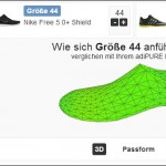 NO MORE MISTAKE BUYS! WITH THIS ONLINE TOOL YOU'LL FIND THE PERFECT SHOE SIZE