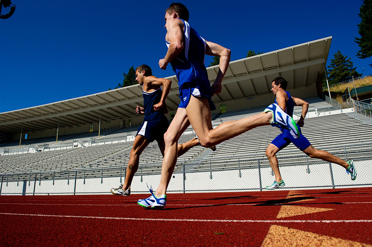 Track training: Improve your running technique, coordination and stabilise   the arches of your feet