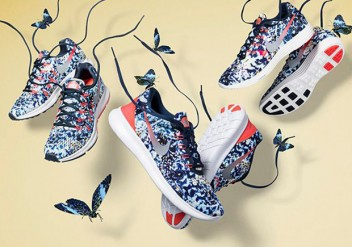 FLOWER JUNGLE DESIGN FOR NIKE RUNNING SHOES