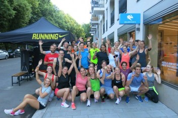 ISAR RUN BY KELLER SPORTS MEETS NIKE ATHLETE FABIENNE KOHLMANN