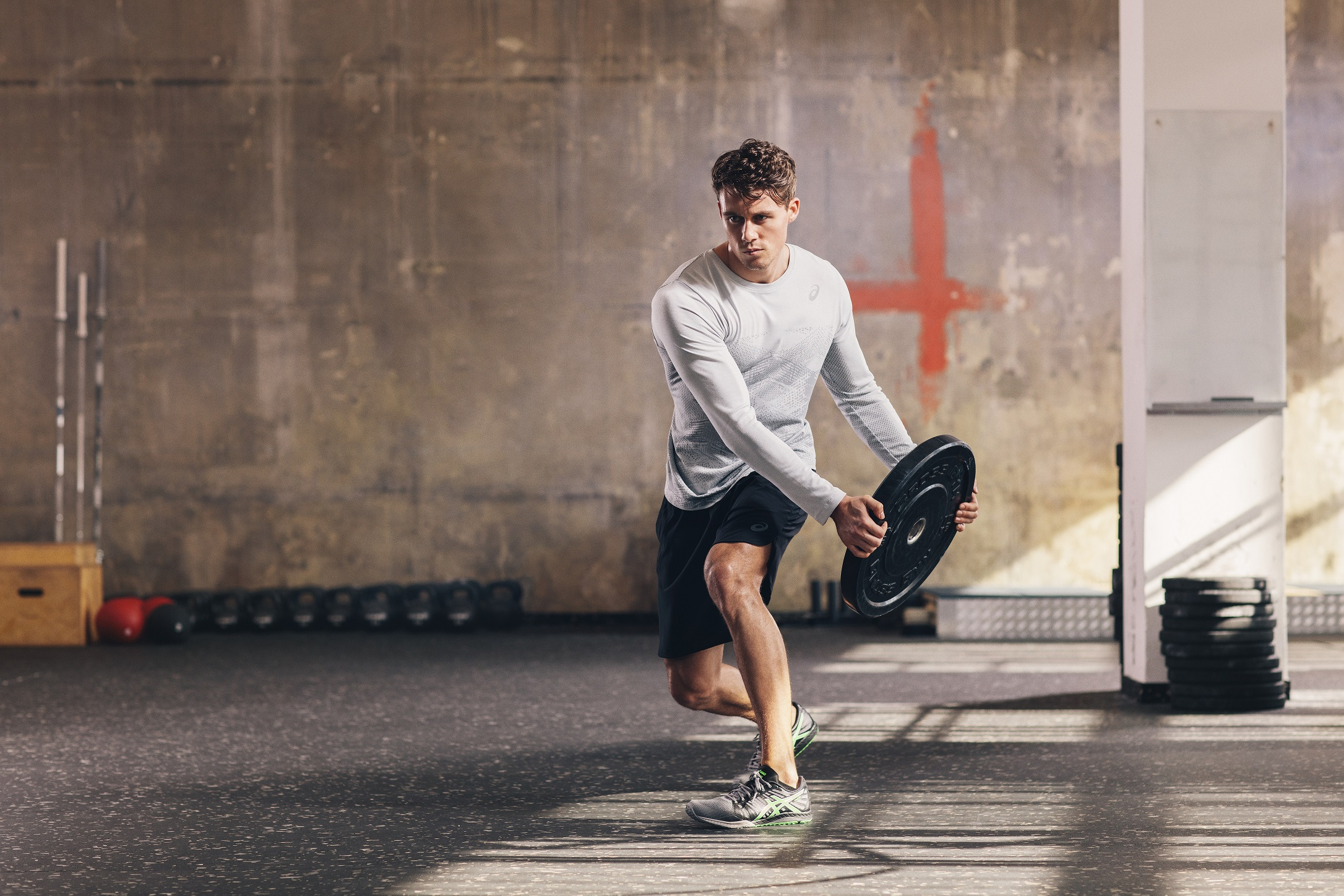 GET FITTER IN 15 SECONDS WITH ASICS