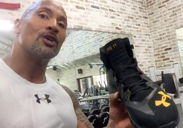"DWAYNE ""THE ROCK"" JOHNSON PRESENTS HIS UNDER ARMOUR SHOE"