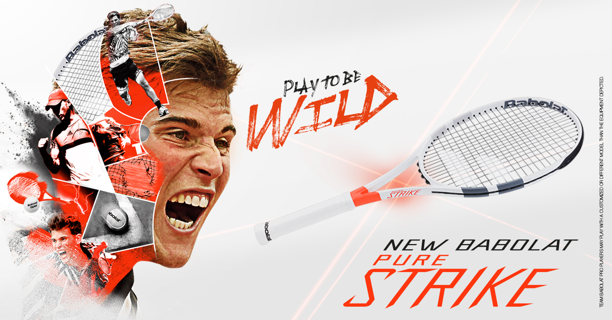 SOON AT KELLER SPORTS: THE BABOLAT PURE STRIKE