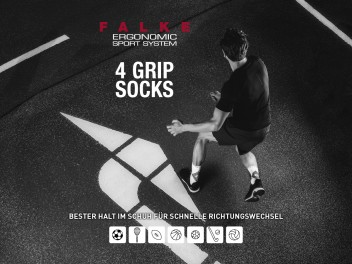 NEW AT KELLER SPORTS: FALKE 4GRIP SPORTS SOCKS