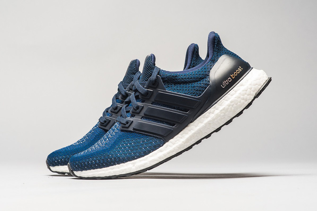 """ULTRA BOOST IN """"NAVY GOLD"""""""