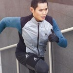 ODLO MEN'S RUNNING OUTFIT FOR AUTUMN AND WINTER