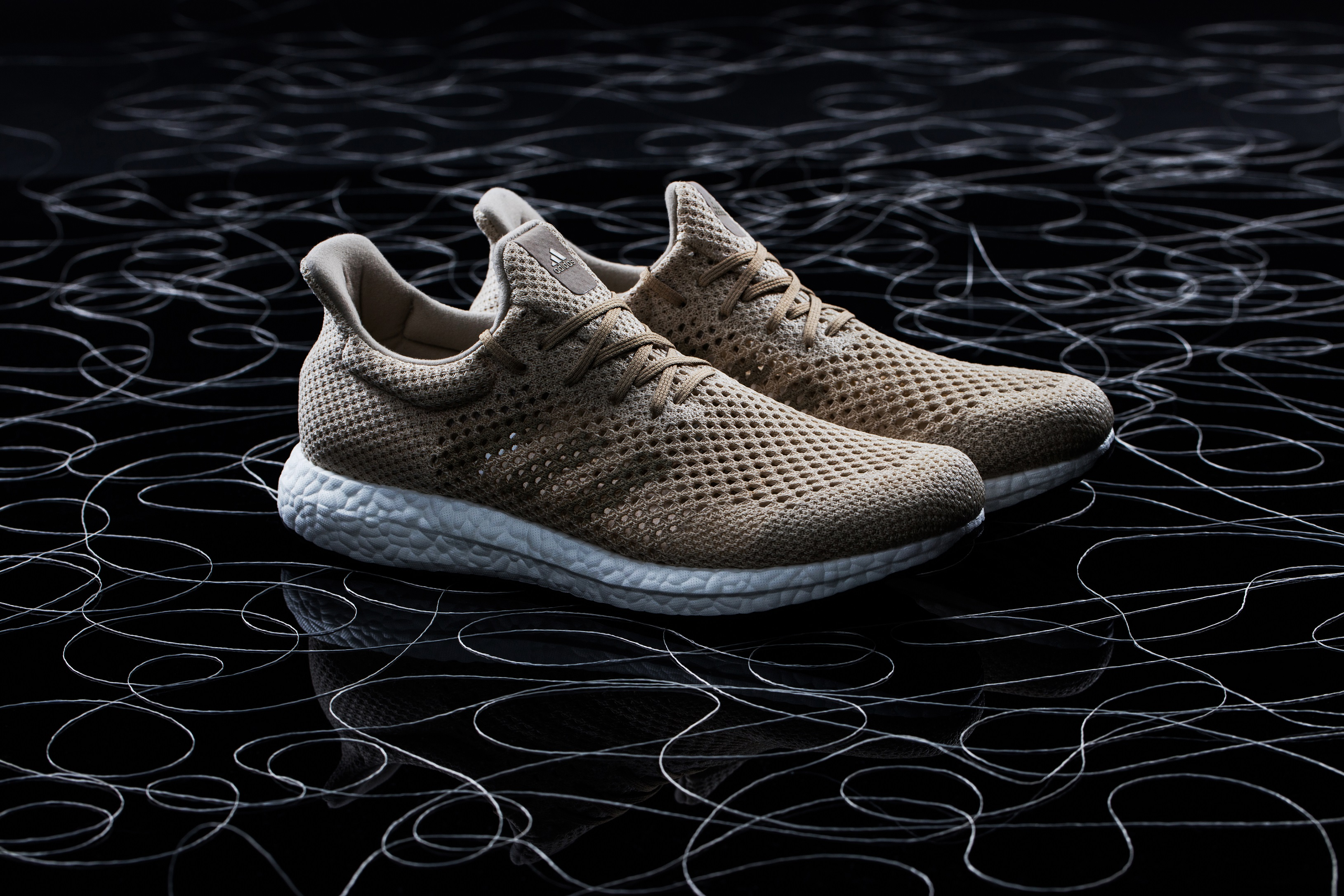 A BIODEGRADABLE SPORTS SHOE FROM ADIDAS