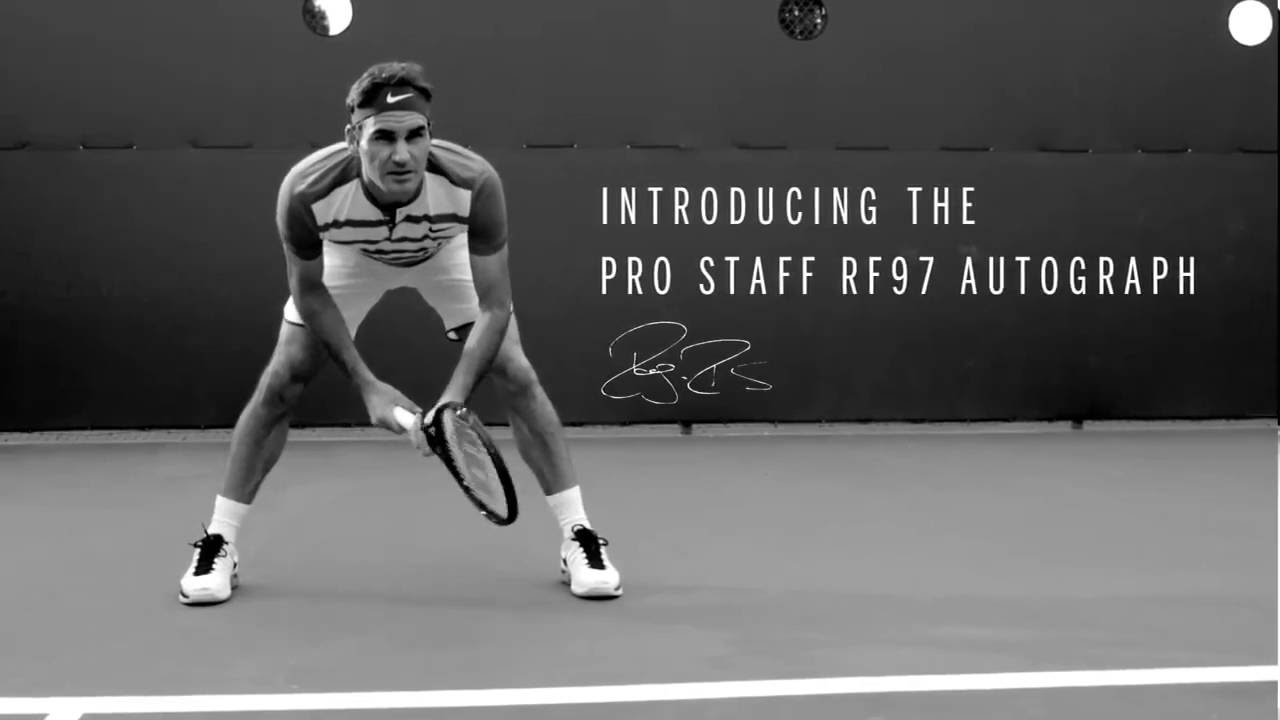 THE NEW PRO STAFF RF97 TENNIS RACKET FROM WILSON