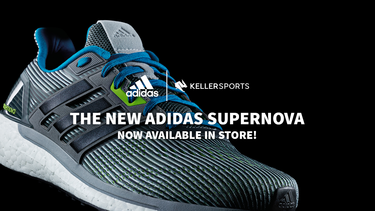 CONTROL YOUR ENERGY- THE ADIDAS SUPERNOVA COLLECTION IN THE KELLER SPORTS STORE