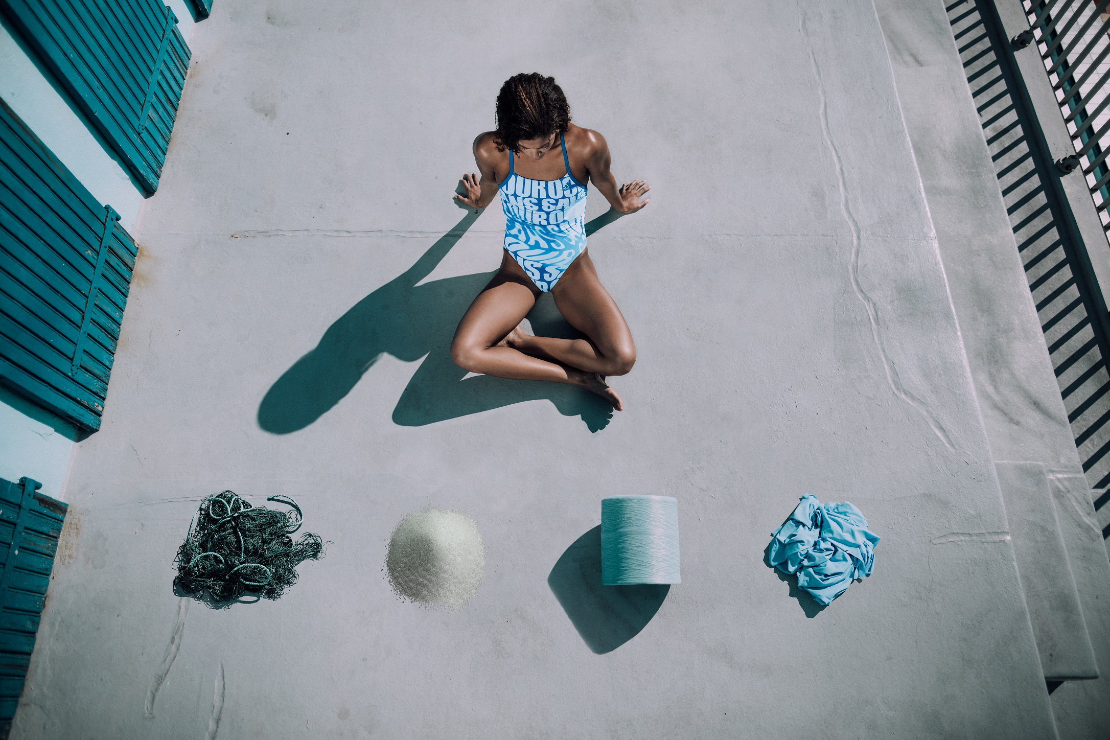 ADIDAS & PARLEY PRESENT SWIMMING COSTUMES MADE FROM OCEAN WASTE