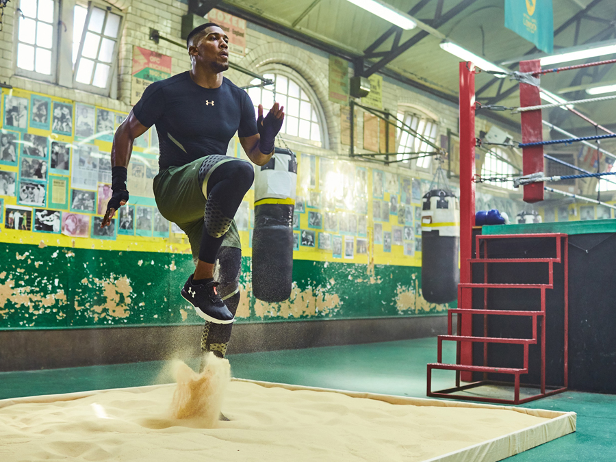 TRAIN LIKE ANTHONY JOSHUA WITH THE UNDER ARMOUR CHARGED ULTIMATE TR 2.0
