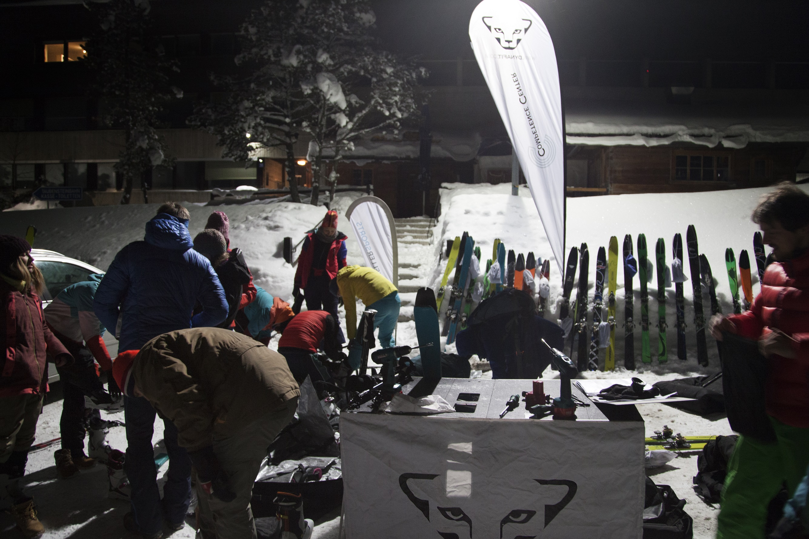 THE FIRST SKI TOURING EVENING WITH DYNAFIT AND KELLER SPORTS