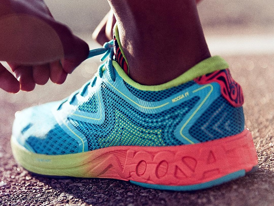 DON'T RUN, FLY - TAKE OFF WITH THE NEW ASICS GEL NOOSA FF
