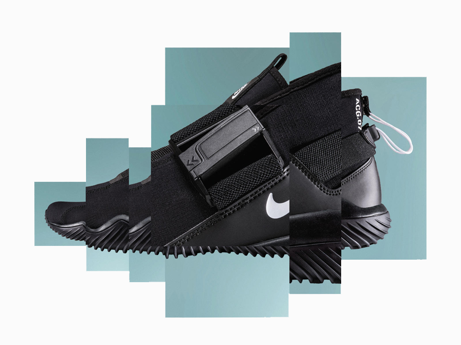 FROM PAPER BAG TO SPORTS SHOE: NIKELAB ACG.07.KMTR