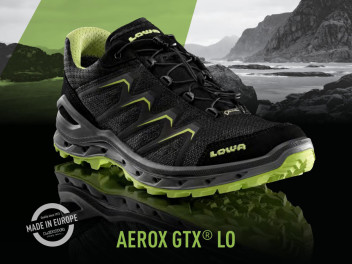 NOW AT KELLER SPORTS: THE BRAND NEW LOWA AEROX GTX