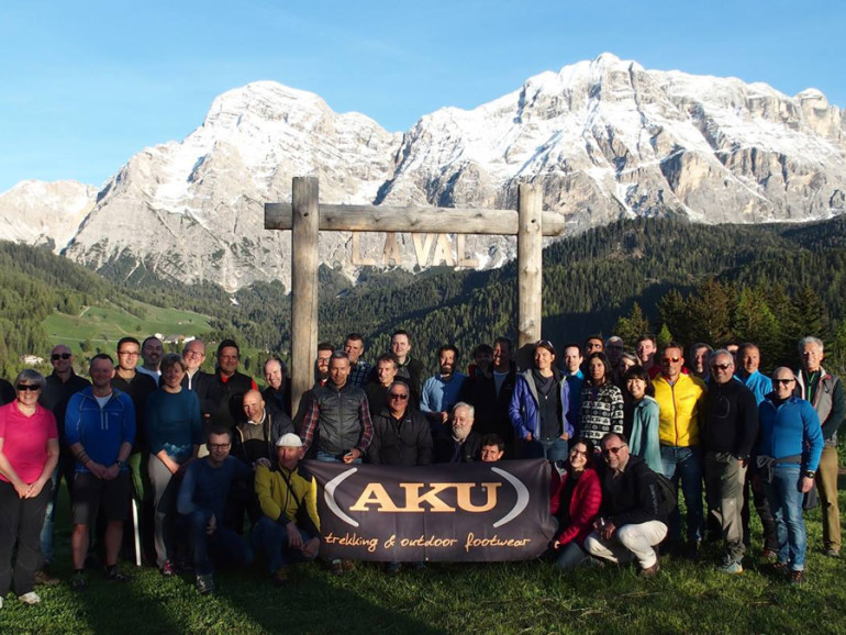 AKU DEDICATES A SHOE TO LA VAL, EUROPE'S FIRST CERTIFIED HIKING VILLAGE