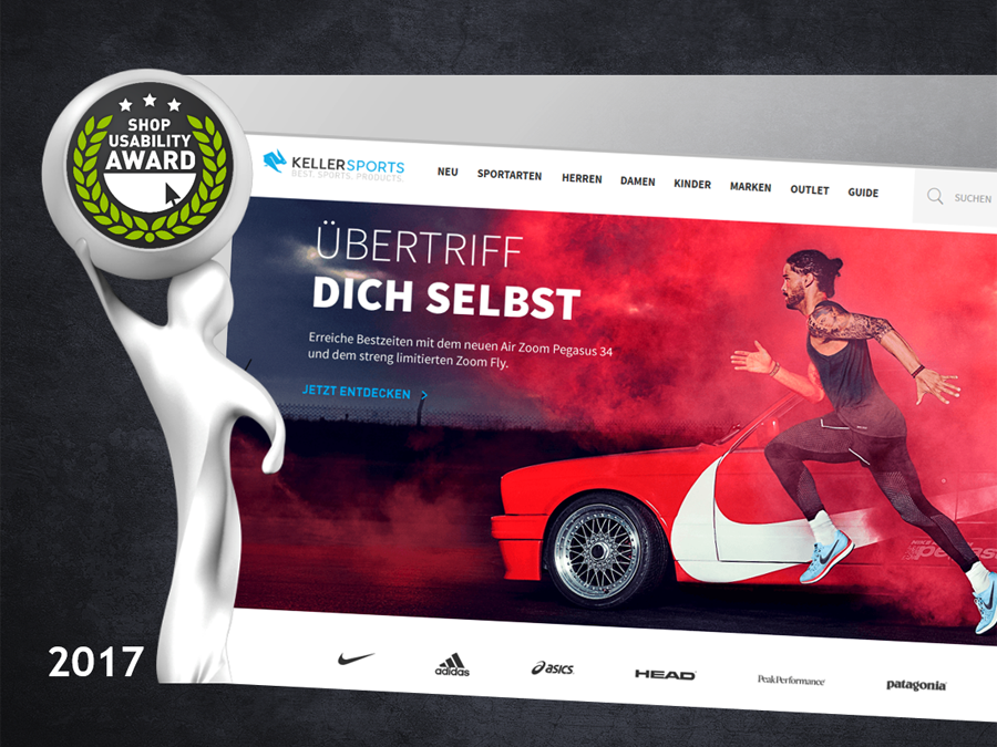 KELLER-SPORTS.DE IS THE MOST INNOVATIVE SHOP OF 2017
