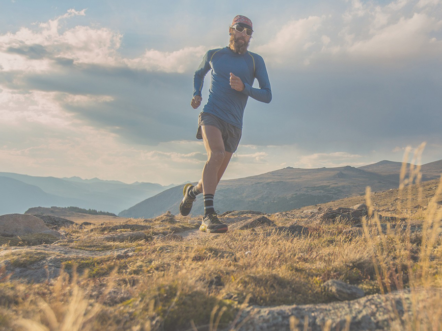 MOUNTAIN RUNNING WITH LA SPORTIVA SHOES