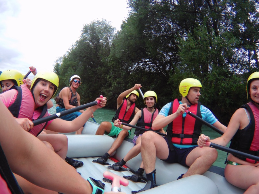 WEEKEND TIP: WHITE WATER RAFTING ON THE LOISACH