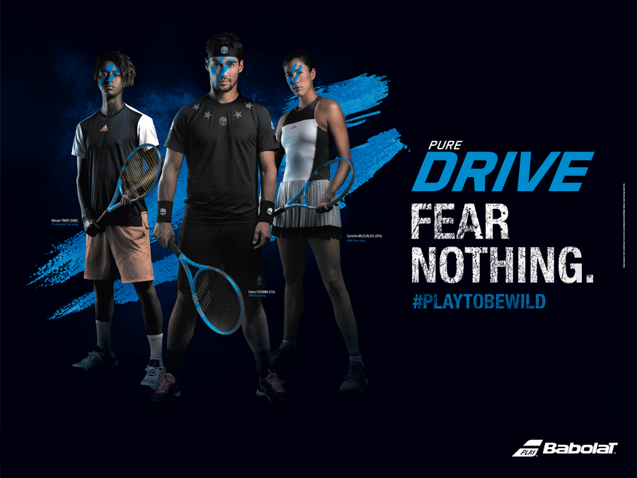 NOW AT KELLER SPORTS - THE NEW BABOLAT PURE DRIVE RACKET