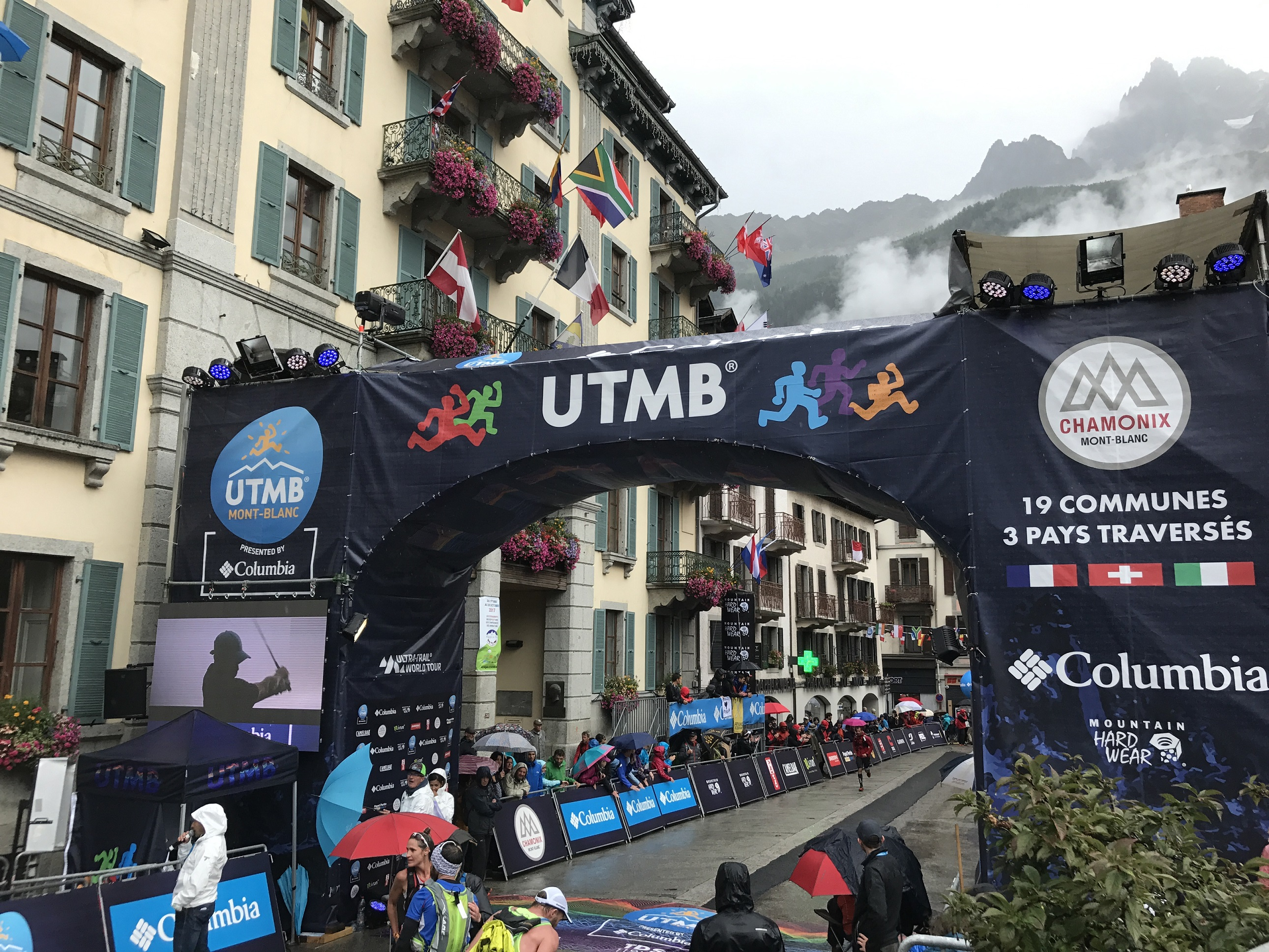 KELLER SPORTS AT THE UTMB 2017 PRESENTED BY COLUMBIA