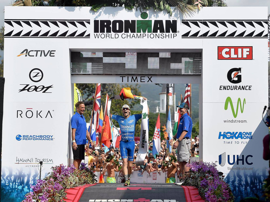 ANOTHER GERMAN WINNER OF THE IRONMAN HAWAII - RYF WITH THE TRIPLE