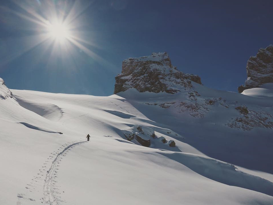 JOHAN JONSSON EXPLORES THE OTHER SIDE OF ENGELBERG