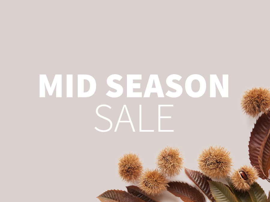THE START OF THE MIDSEASON SALE