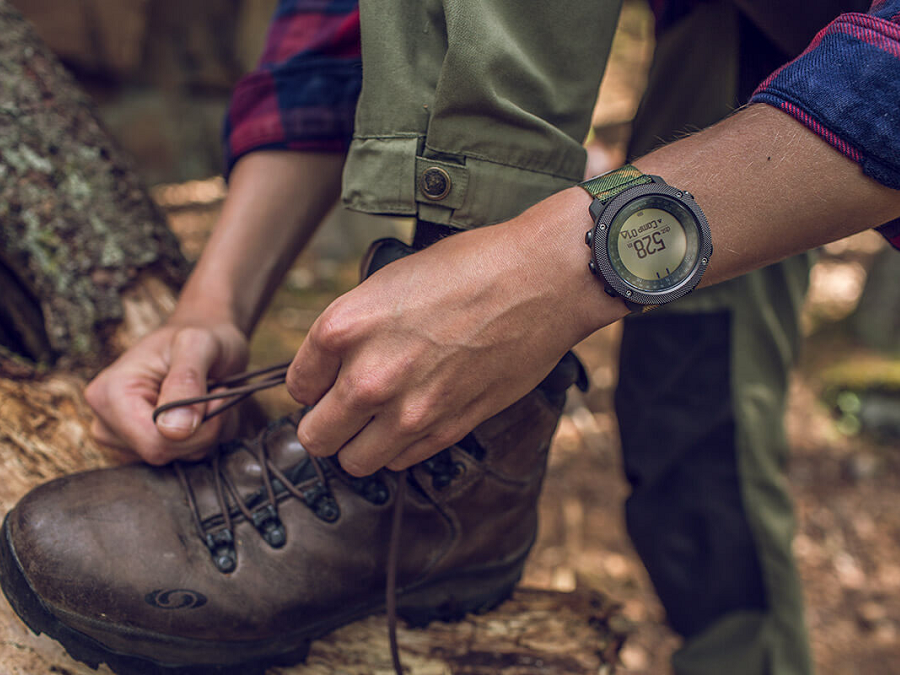 THE STRICTLY LIMITED SUUNTO TRAVERSE ALPHA IN A CAMO DESIGN - READY TO EXPLORE AND HUNT