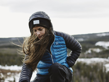 THE HAGLÖFS ESSENS MIMIC COLLECTION WILL KEEP YOU WARM IN COLD, WET WEATHER