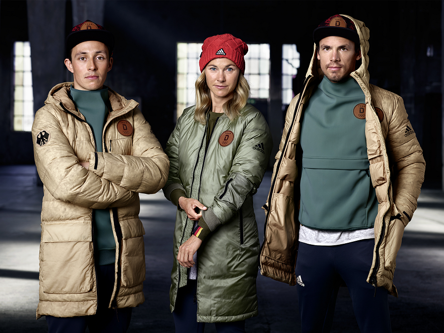 ADIDAS PRESENTS THE OLYMPICS 2018 GERMAN TEAM COLLECTION