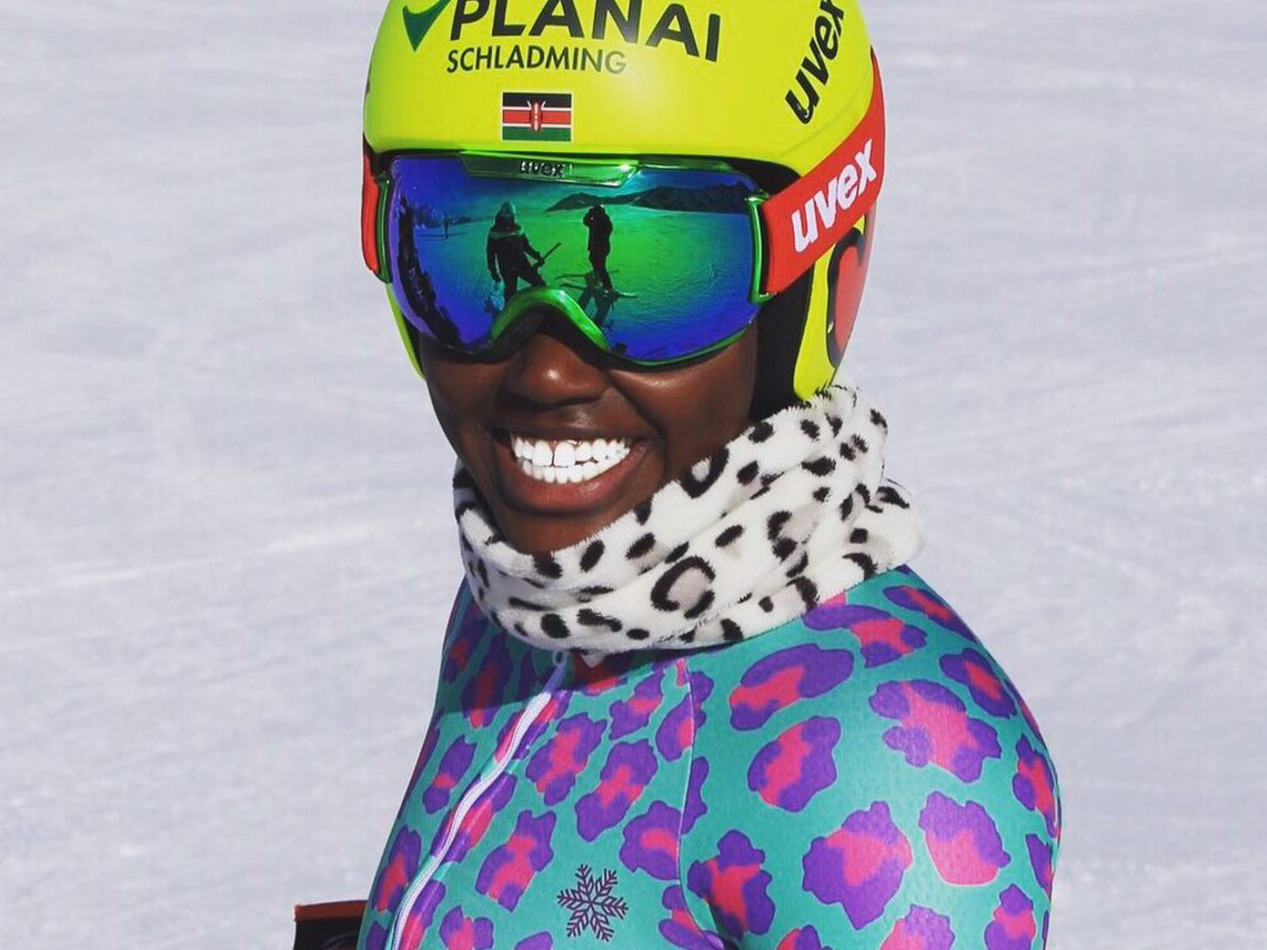 KENYAN SKIER'S OLYMPIC DREAM