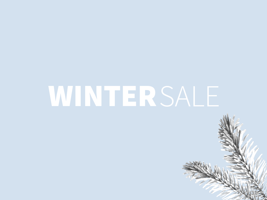 THE WINTER SALE - GET THE BEST DEALS NOW