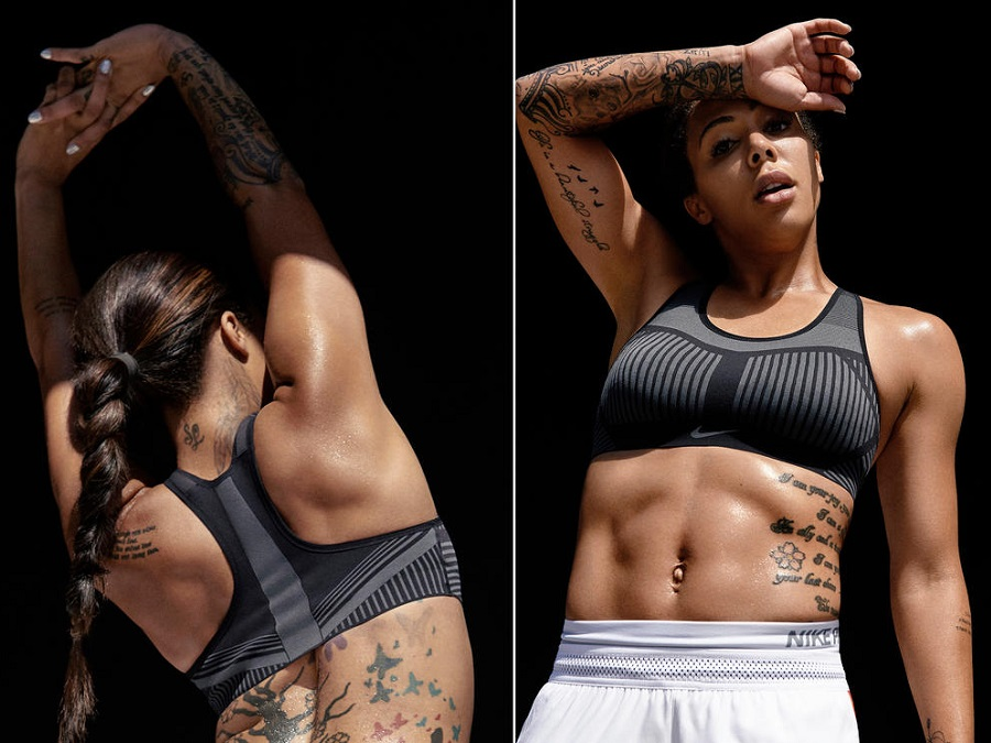 GET THE STRICTLY LIMITED NIKE FE/NOM FLYKNIT SPORTS BRA