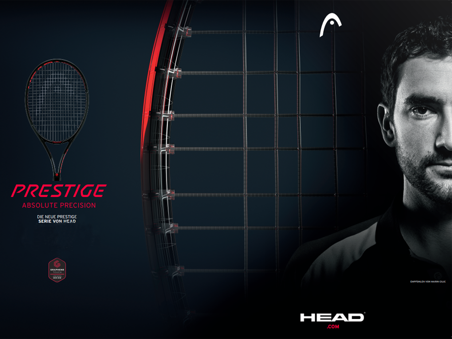 ABSOLUTE PRECISION WITH THE NEW HEAD PRESTIGE 2018 TENNIS RACKETS
