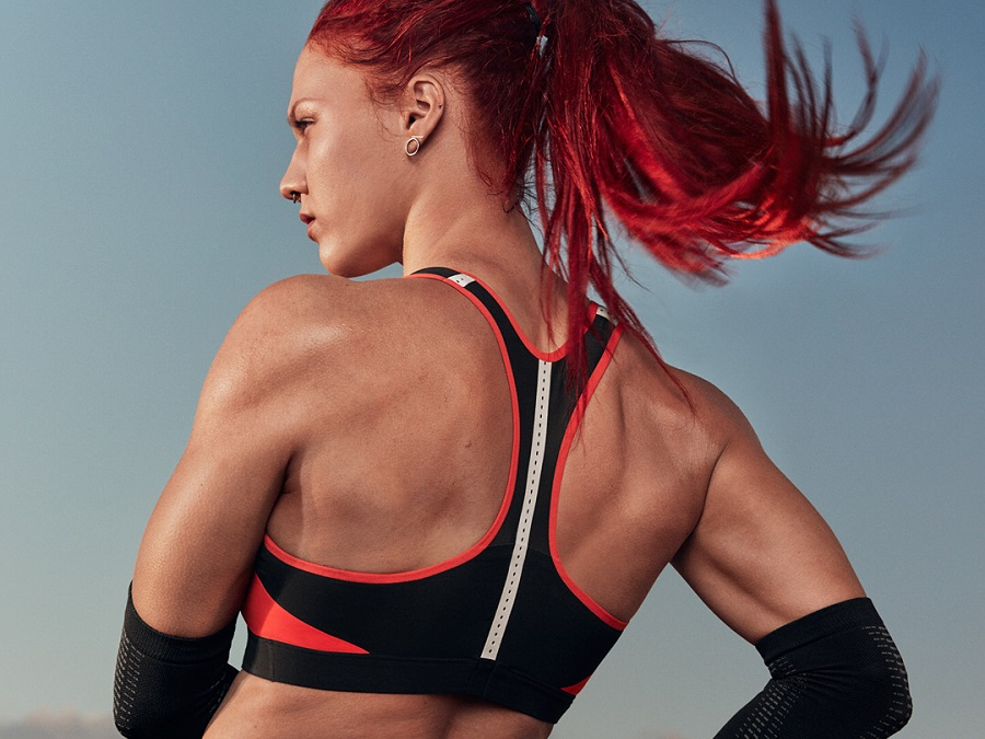 THE ULTIMATE SUPPORT FOR REAL WOMAN POWER - THE NEW NIKE MOTION ADAPT TRAINING BRA