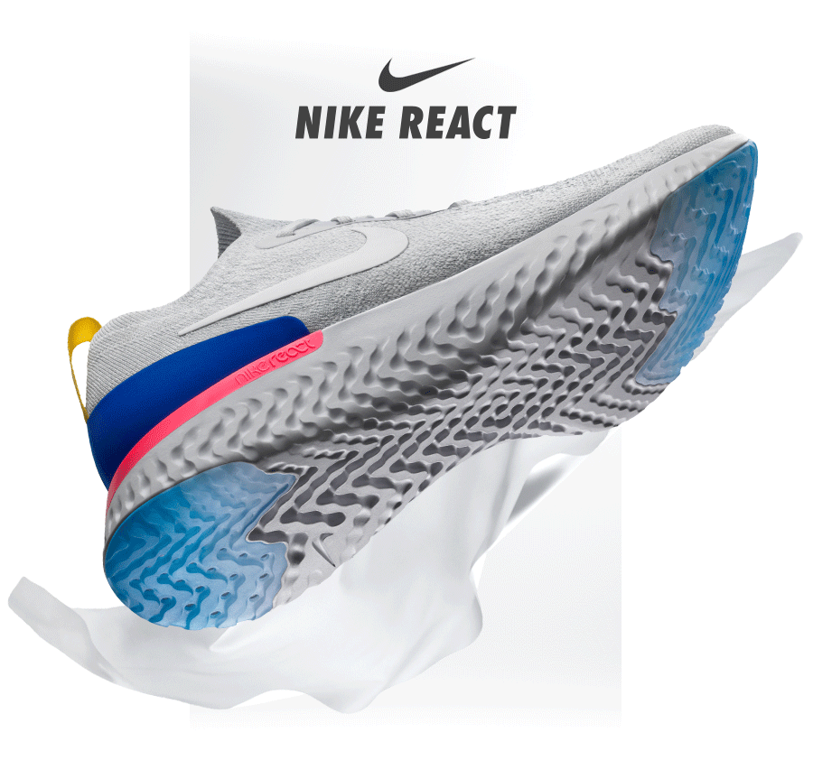 THE NIKE EPIC REACT - NOW AVAILABLE