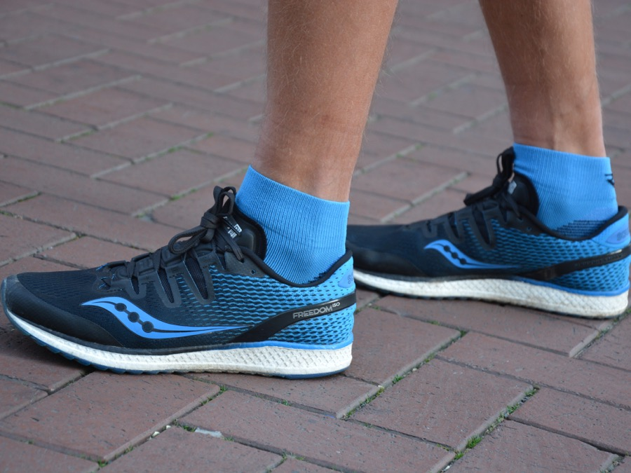 PRO YANNICK TESTS THE SAUCONY FREEDOM ISO Keller Sports