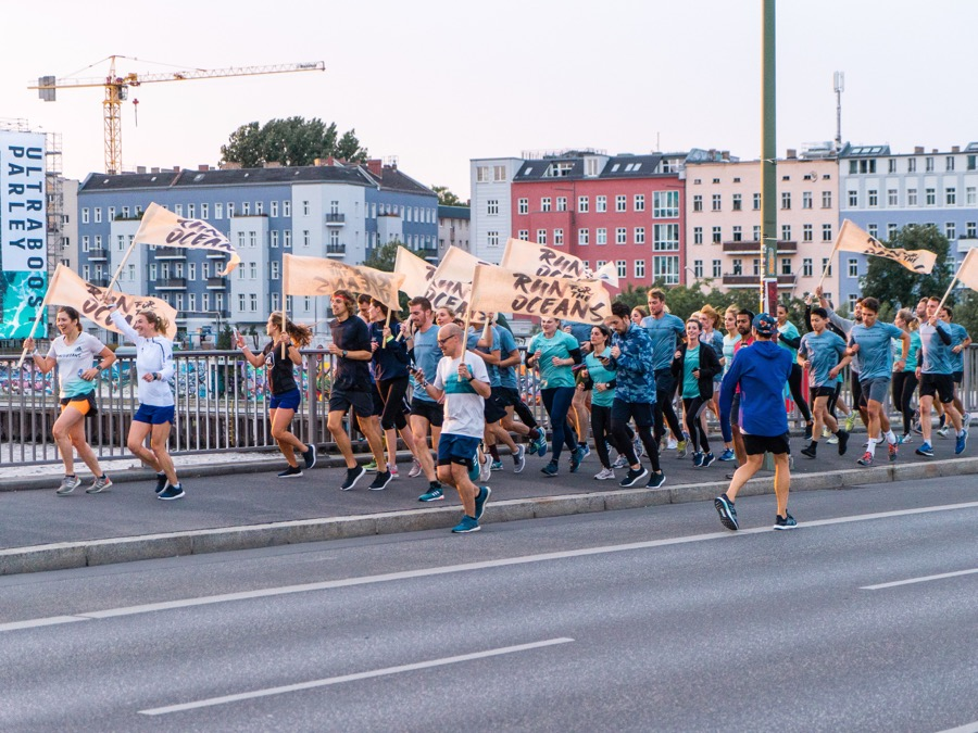 RUN FOR THE OCEANS WITH ADIDAS PARLEY IN THE KELLER SPORTS STORE