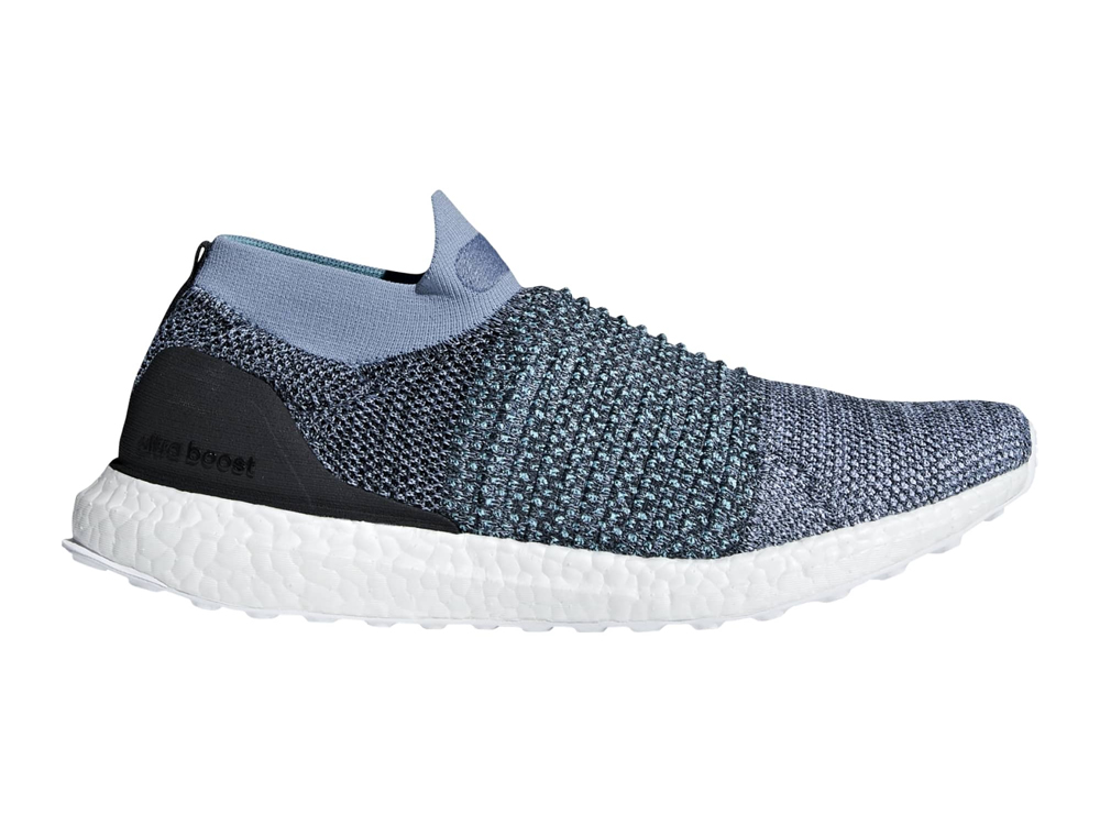 adidas UltraBOOST Laceless Parley men's running shoe (blue)