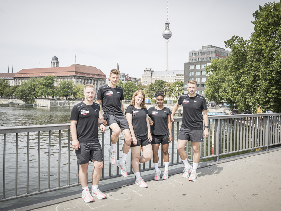THE KELLER SPORTS MARATHON TEAM - ROAD TO BERLIN