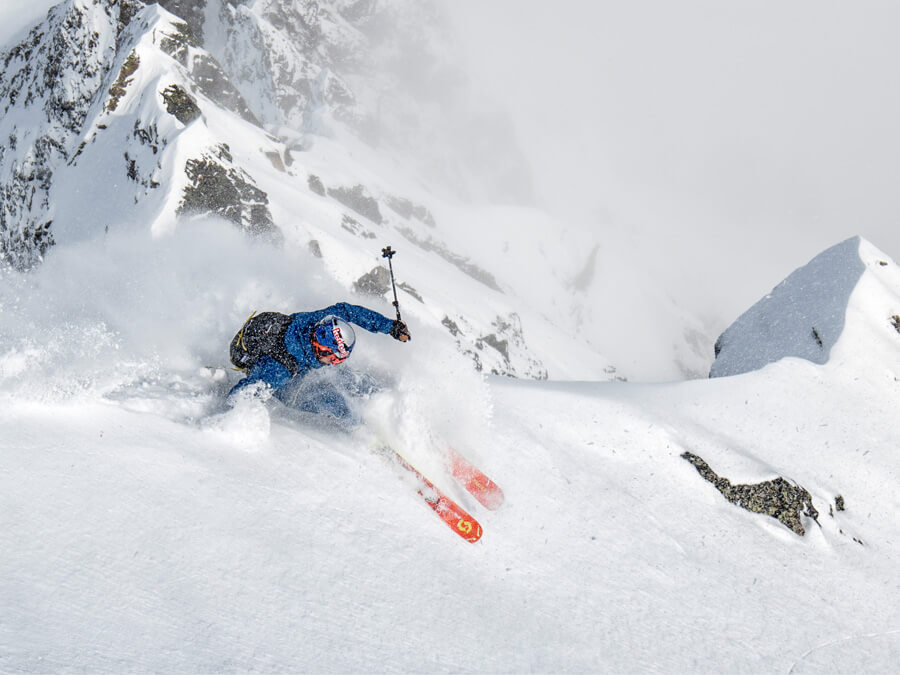PROFESSIONAL FREESKIER JÉRÉMIE HEITZ TALKS TO US ABOUT HIS PROJECTS AND AVALANCHE SAFETY
