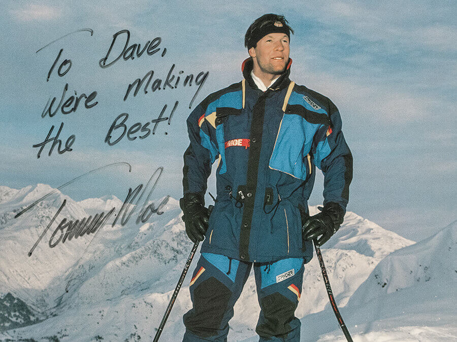 THE STORY BEHIND SPYDER'S TORDRILLO SKI COLLECTION WITH OLYMPIC CHAMPION TOMMY MOE