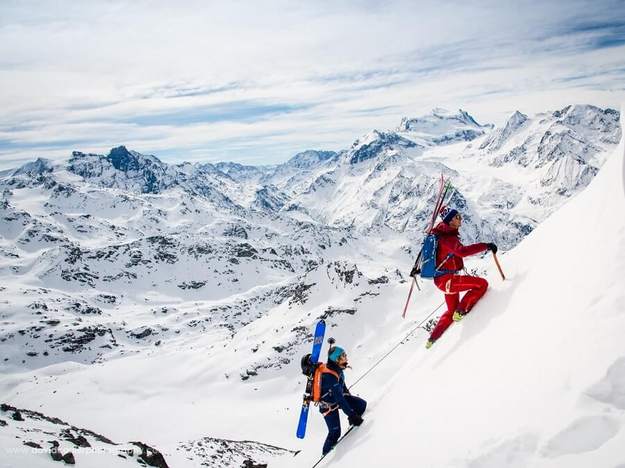 MARMOT ATHLETE GILLES SIERRO TALKS TO US ABOUT STEEP SKIING