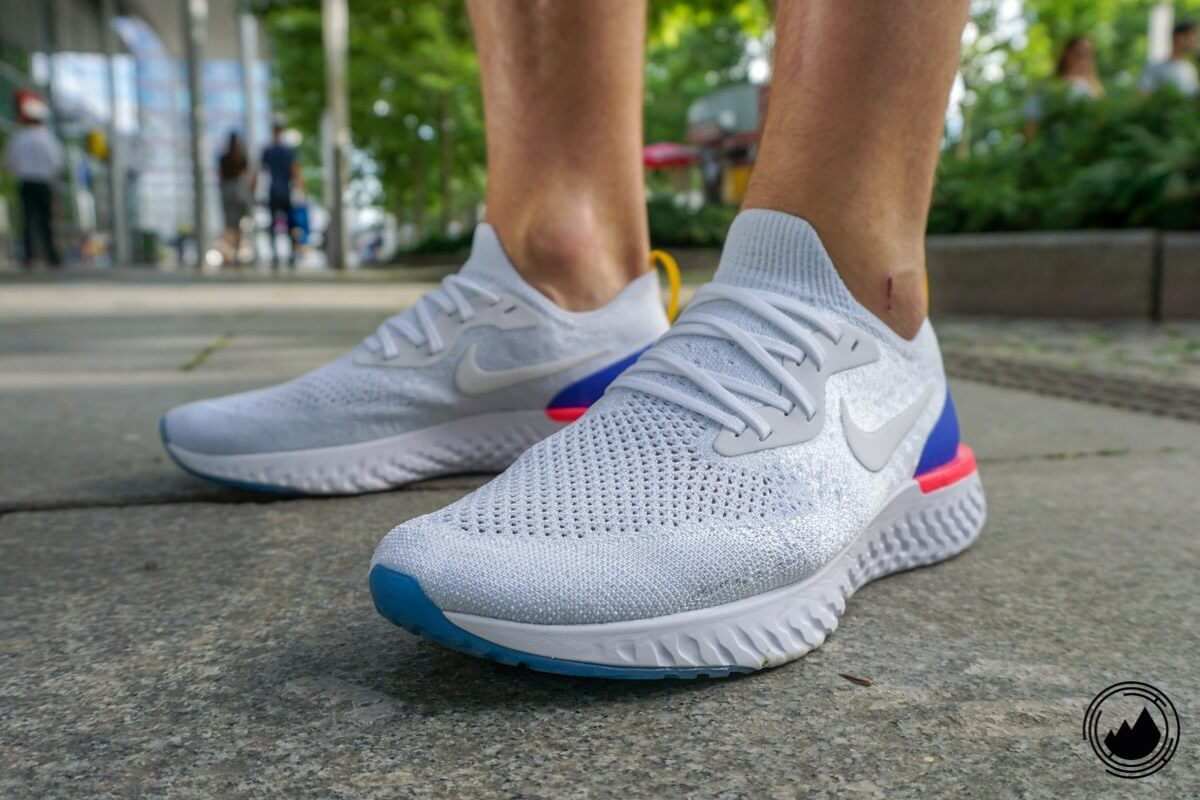 the latest 3c686 2b154 Nike Epic React Flyknit Test shoe men New Running ...