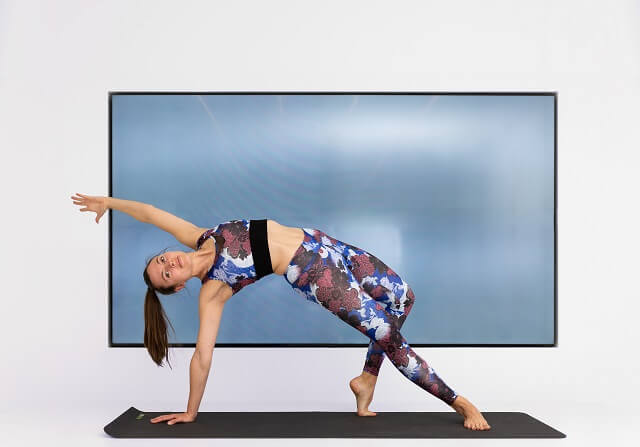 Yoga and other workouts that you can easily do at home can be found in the Keller Sports Guide