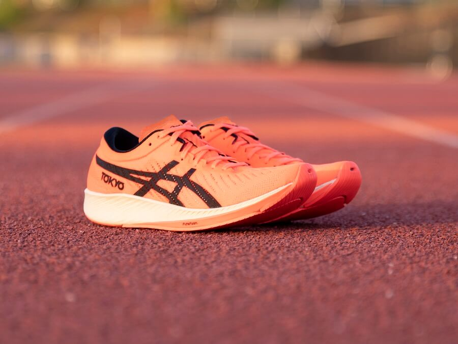 The new ASICS Metaracer running shoes soon at Keller Sports