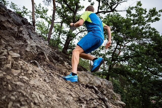 Keller Sports Pro Jan with the Dynafit Ultra 100 trail running shoe in the Outdoor Test 2020